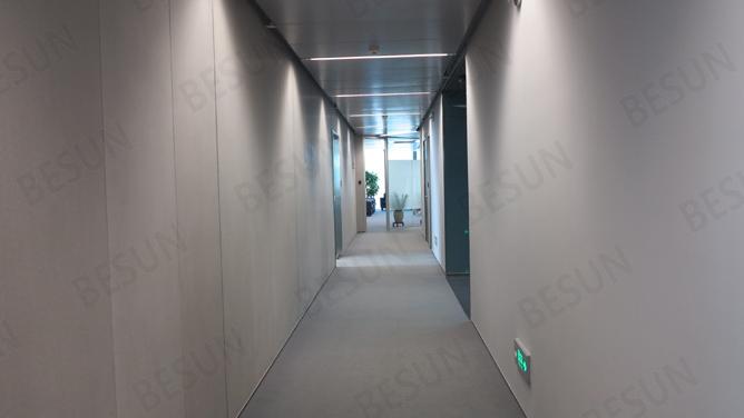 内隔墙装修一体化——走廊墙